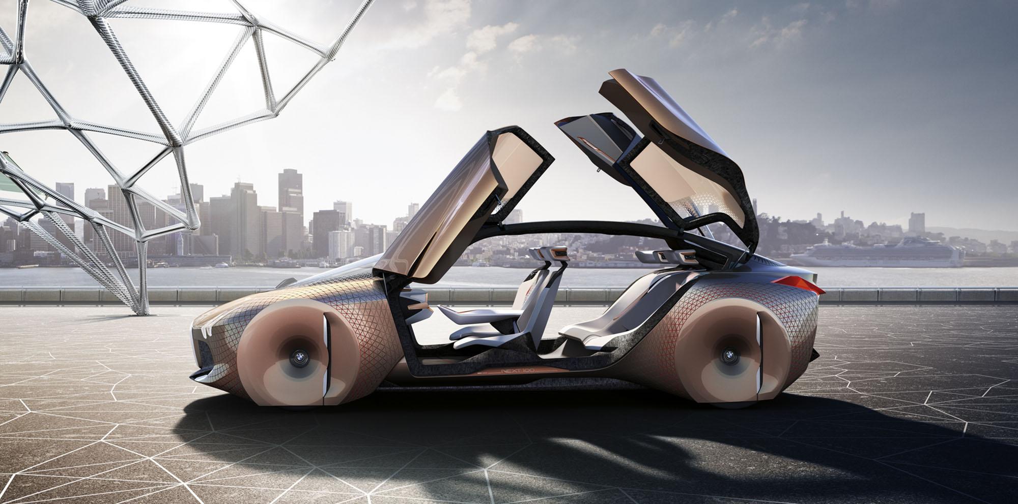 Bmw Vision Next 100 Concept Unveiled Photos Caradvice