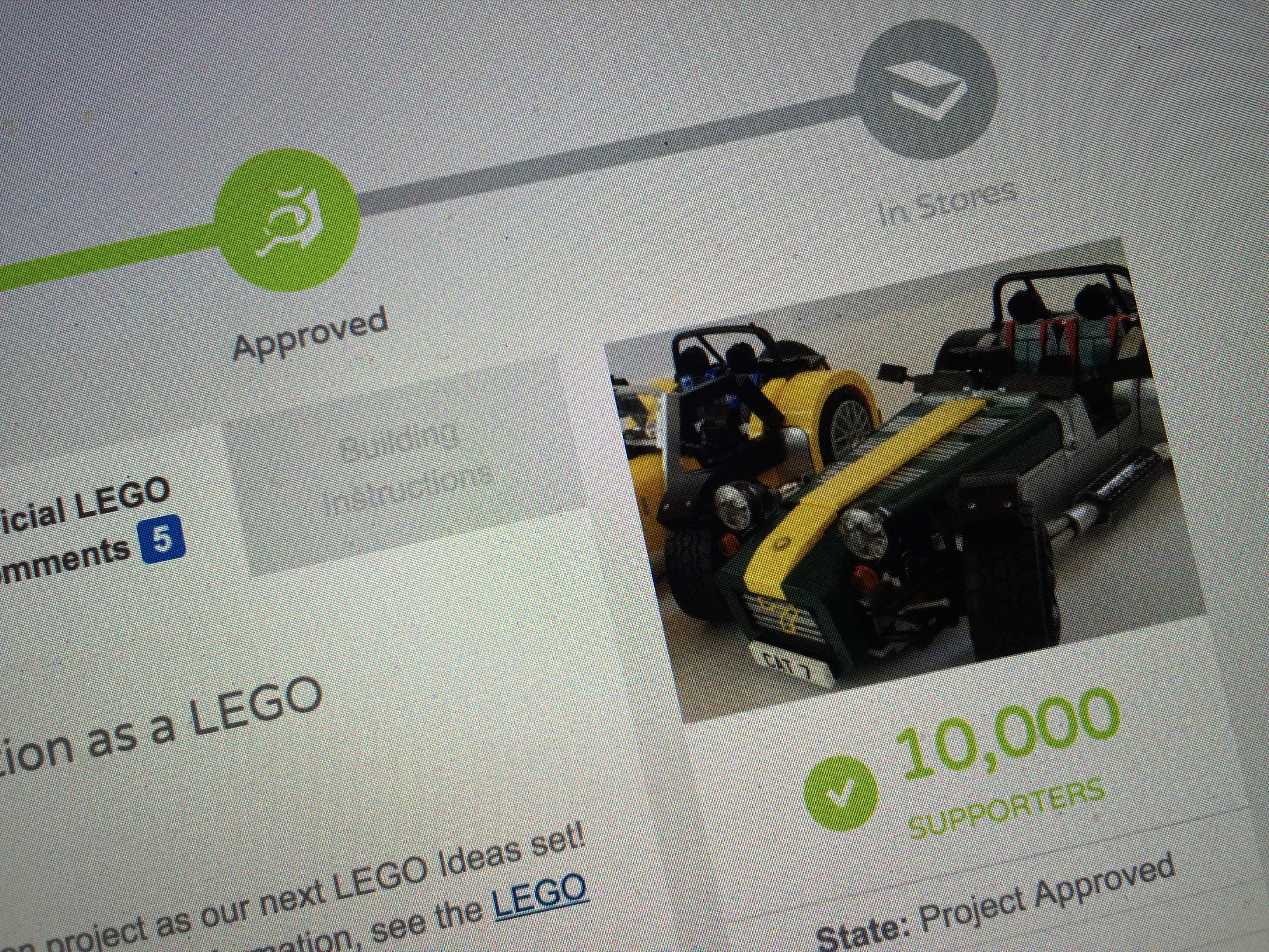 Lego Caterham Seven Set Coming Soon To A Store Near You Photos
