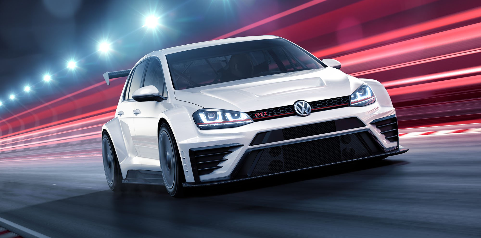 Volkswagen Golf Gti Tcr Race Car Revealed Photos Caradvice