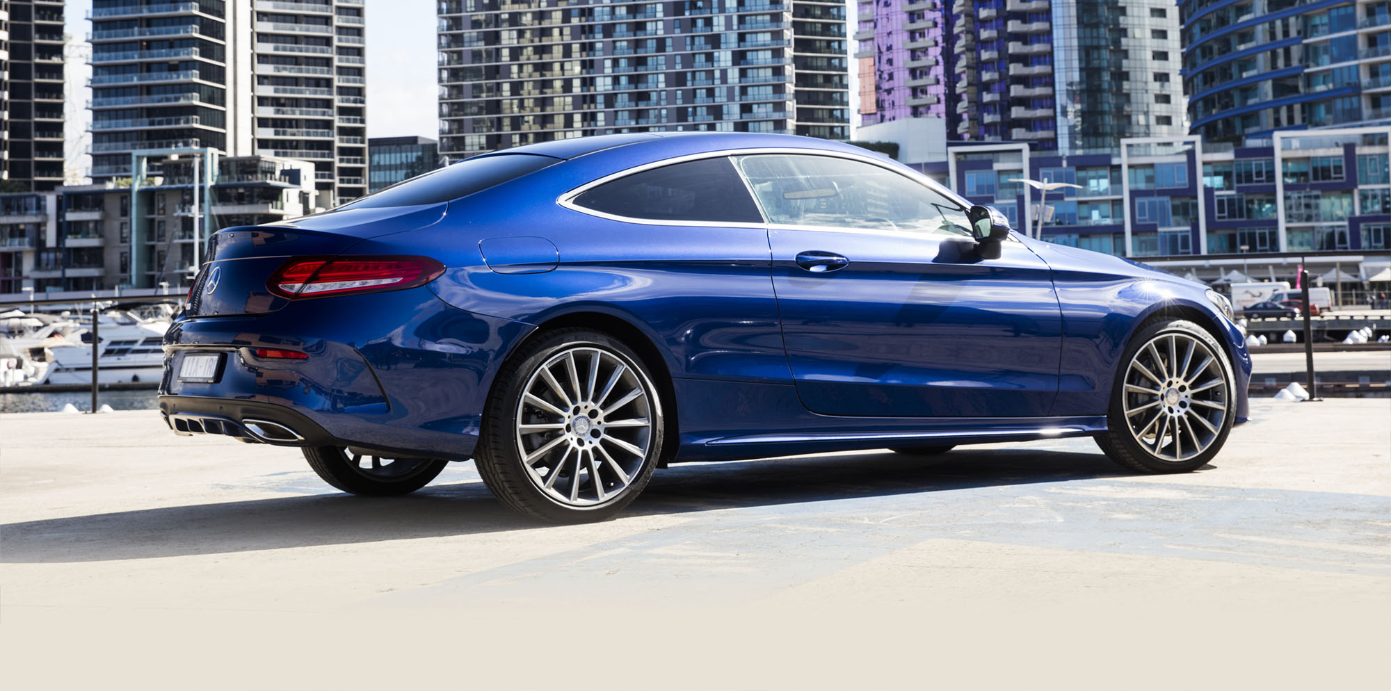 2016 Mercedes-Benz C-Class coupe on sale in Australia ...