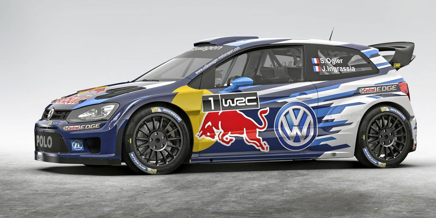 Toyota Supra Top View >> 2017 Volkswagen Polo R WRC teased - photos | CarAdvice