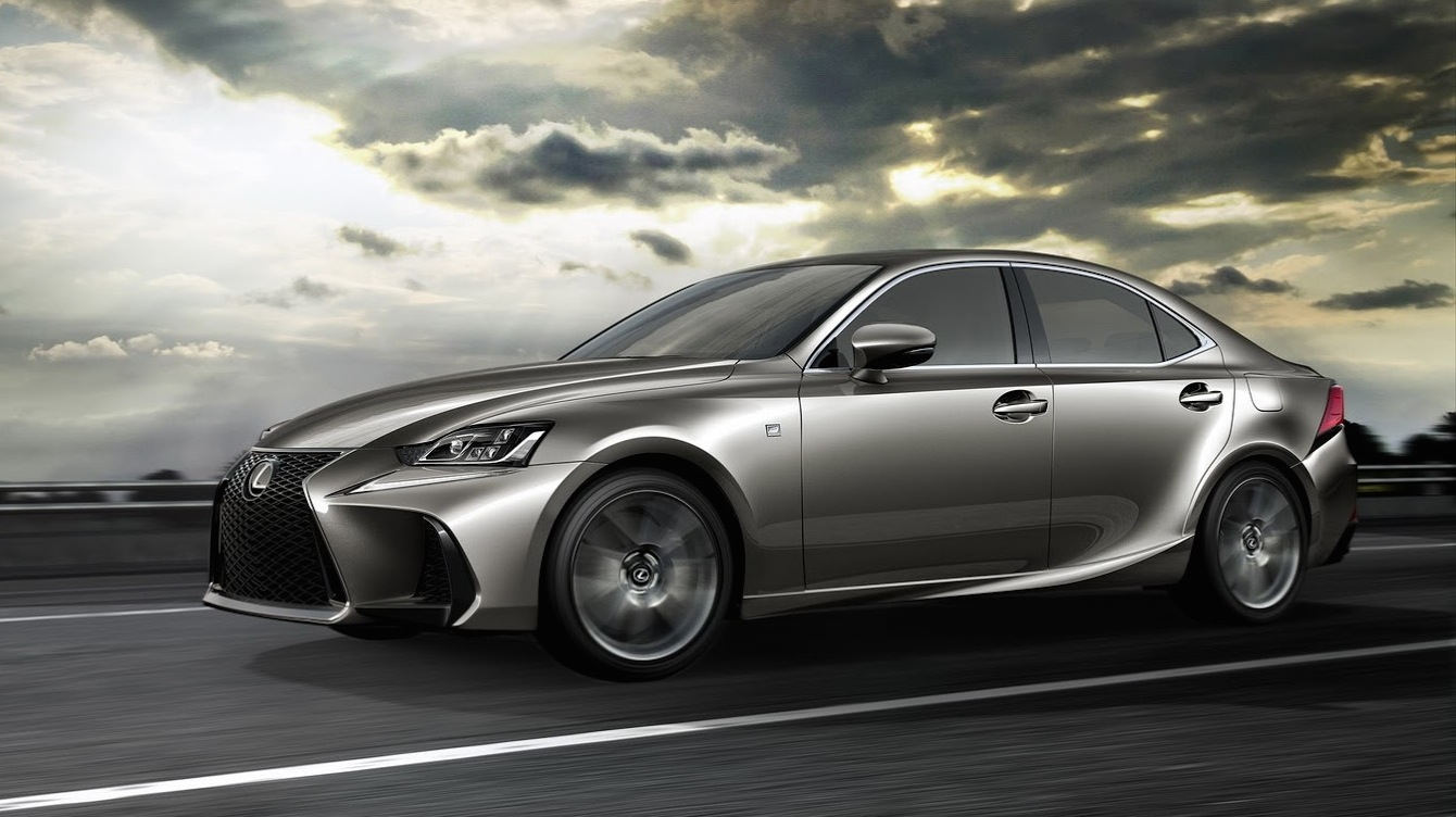 2017 Lexus IS facelift unveiled - UPDATE - Photos (1 of 12)