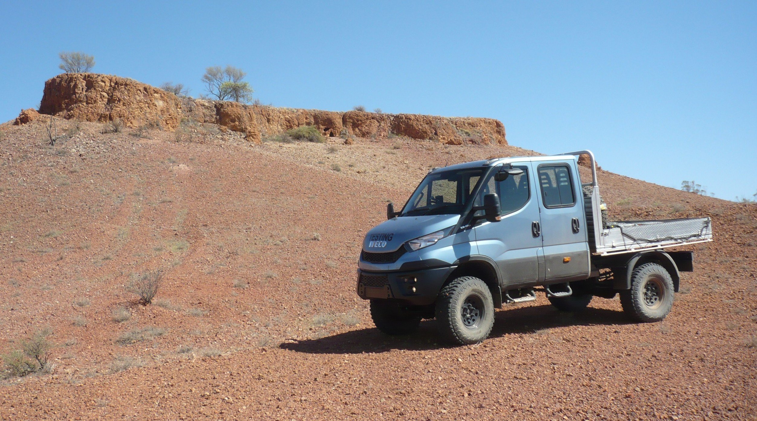 Suzuki Jimny 2018 Australia >> 2016 Iveco Daily 4x4: rigorous outback testing completed ahead of local launch - photos | CarAdvice