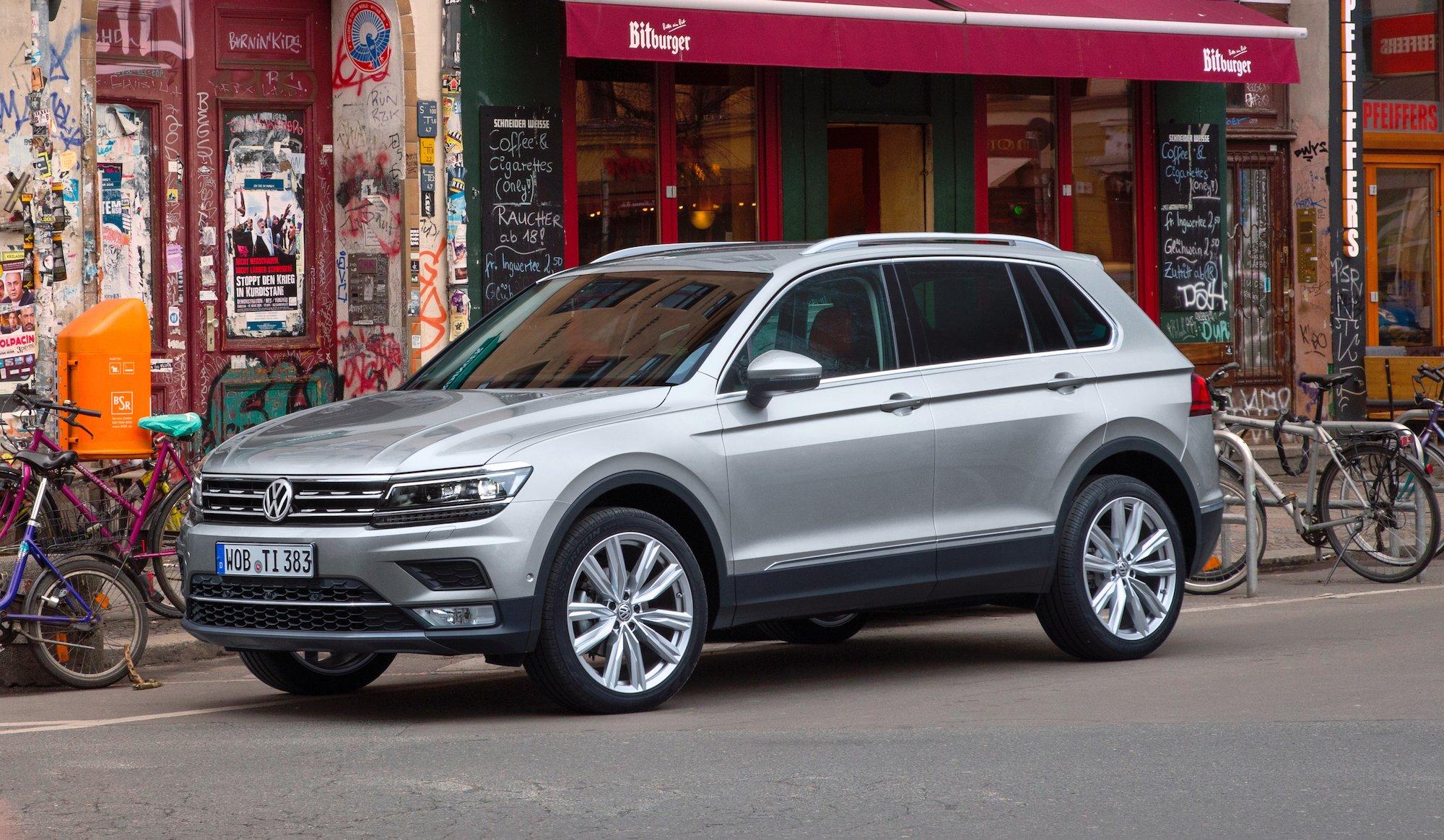 2016 Volkswagen Tiguan Review Photos Caradvice