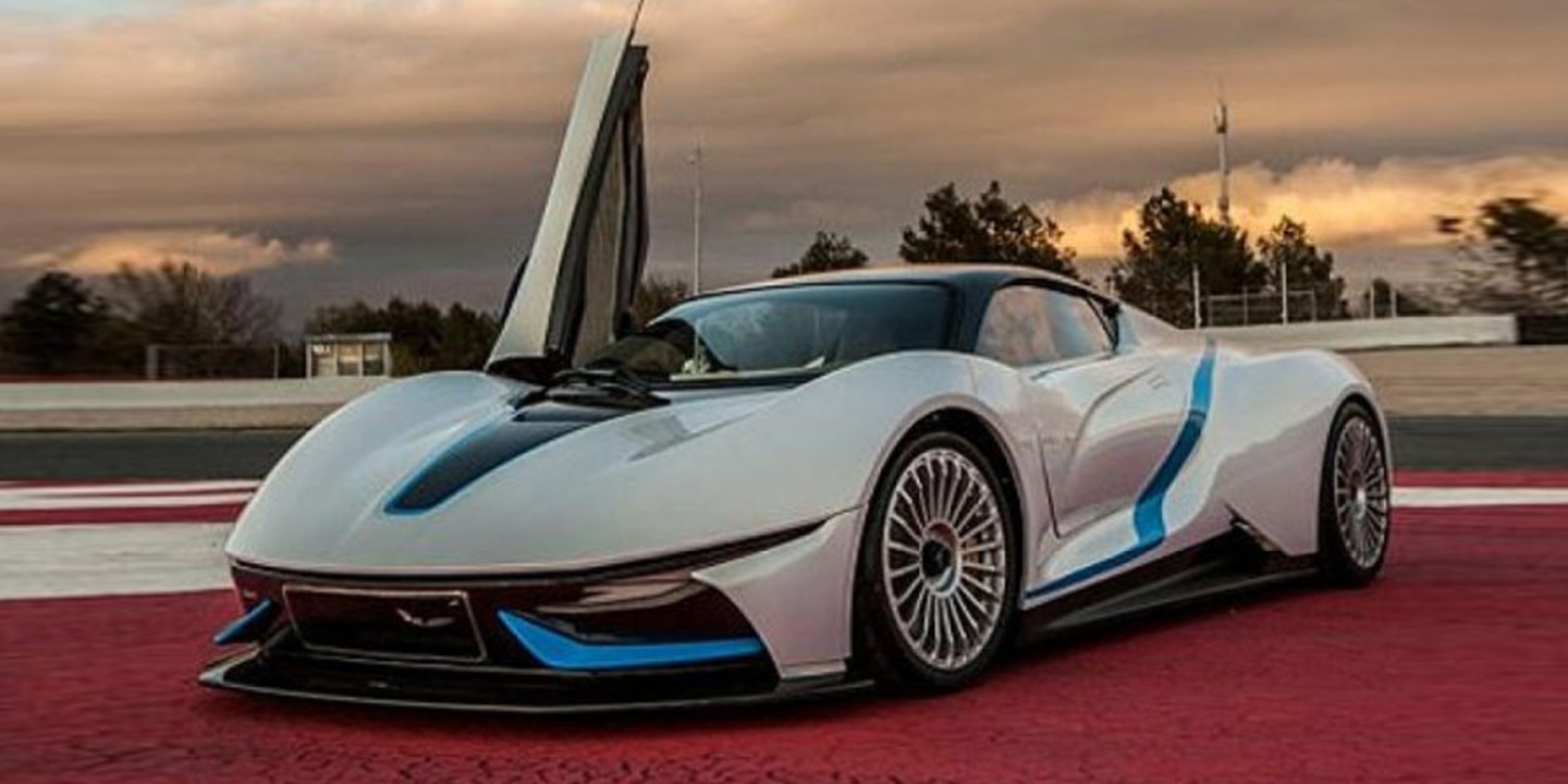 BAIC Electric Supercar Leaked, Details Emerge