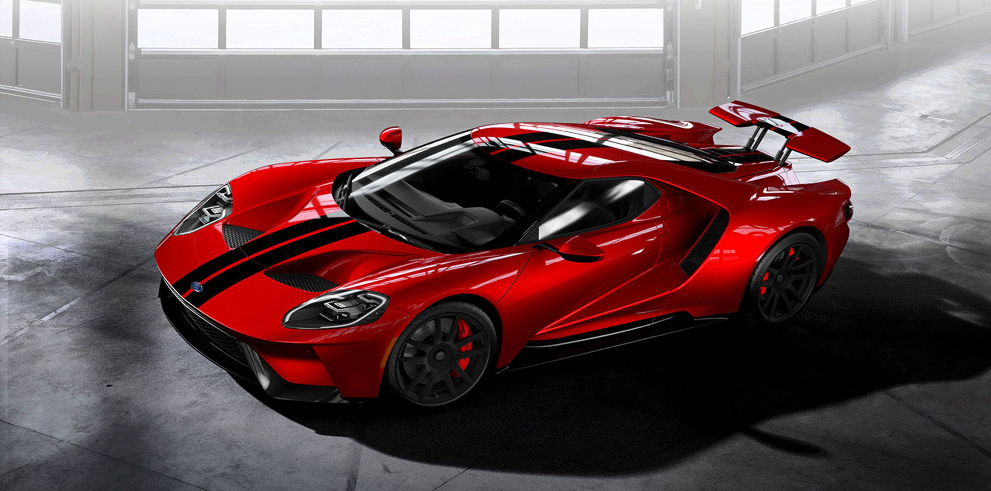 2017 Ford Gt Order Book Opens 500 Available But None For