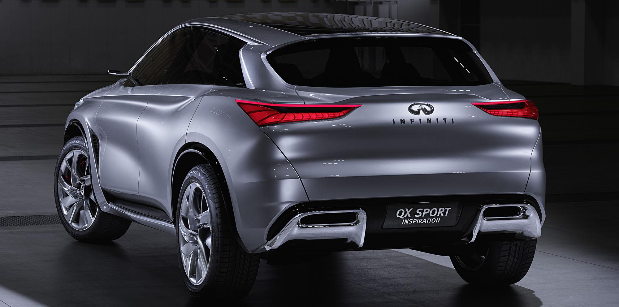 Infiniti QX Sport Inspiration Concept Unveiled, Previews