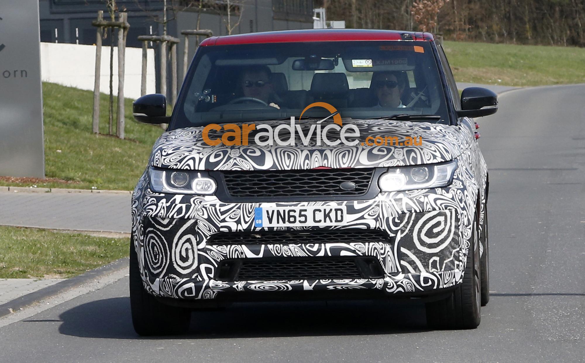 2017 Range Rover Sport Svr Spied Testing Performance