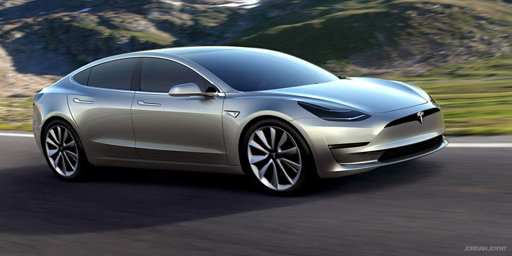 tesla model 3 design tweaks coming pre orders blow out to 276 000 photos caradvice. Black Bedroom Furniture Sets. Home Design Ideas