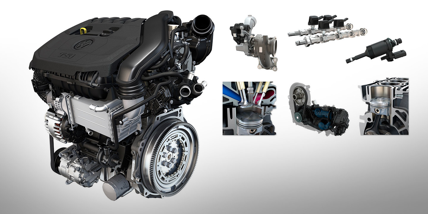 Volkswagen Reveals More Efficient New 1 5 Tsi Engine Photos Caradvice