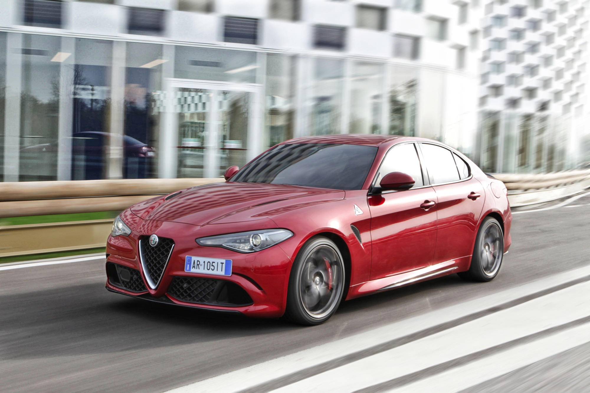 2016 Alfa Romeo Giulia Quadrifoglio Review - photos ...