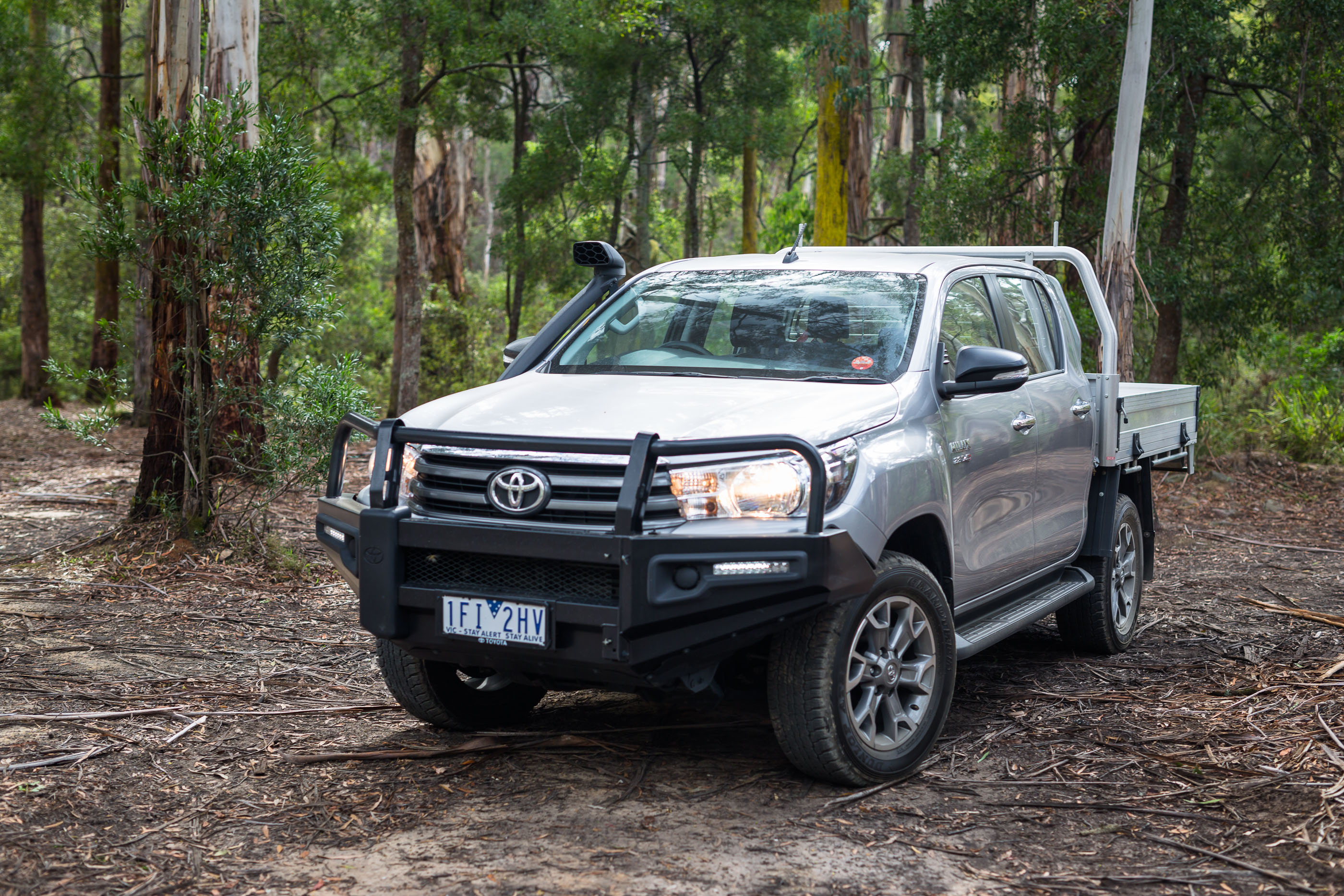 2016 toyota hilux sr 4x4 cab chassis review photos caradvice. Black Bedroom Furniture Sets. Home Design Ideas