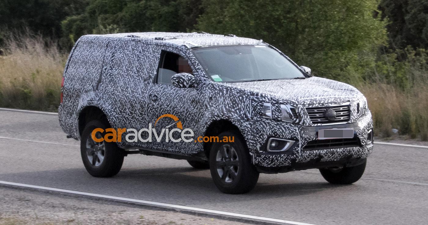 2018 Nissan Navara SUV spied testing - photos | CarAdvice