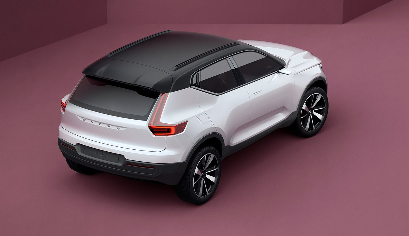 2018 Volvo XC40 previewed alongside jacked-up 'V40.2' concept - photos | CarAdvice