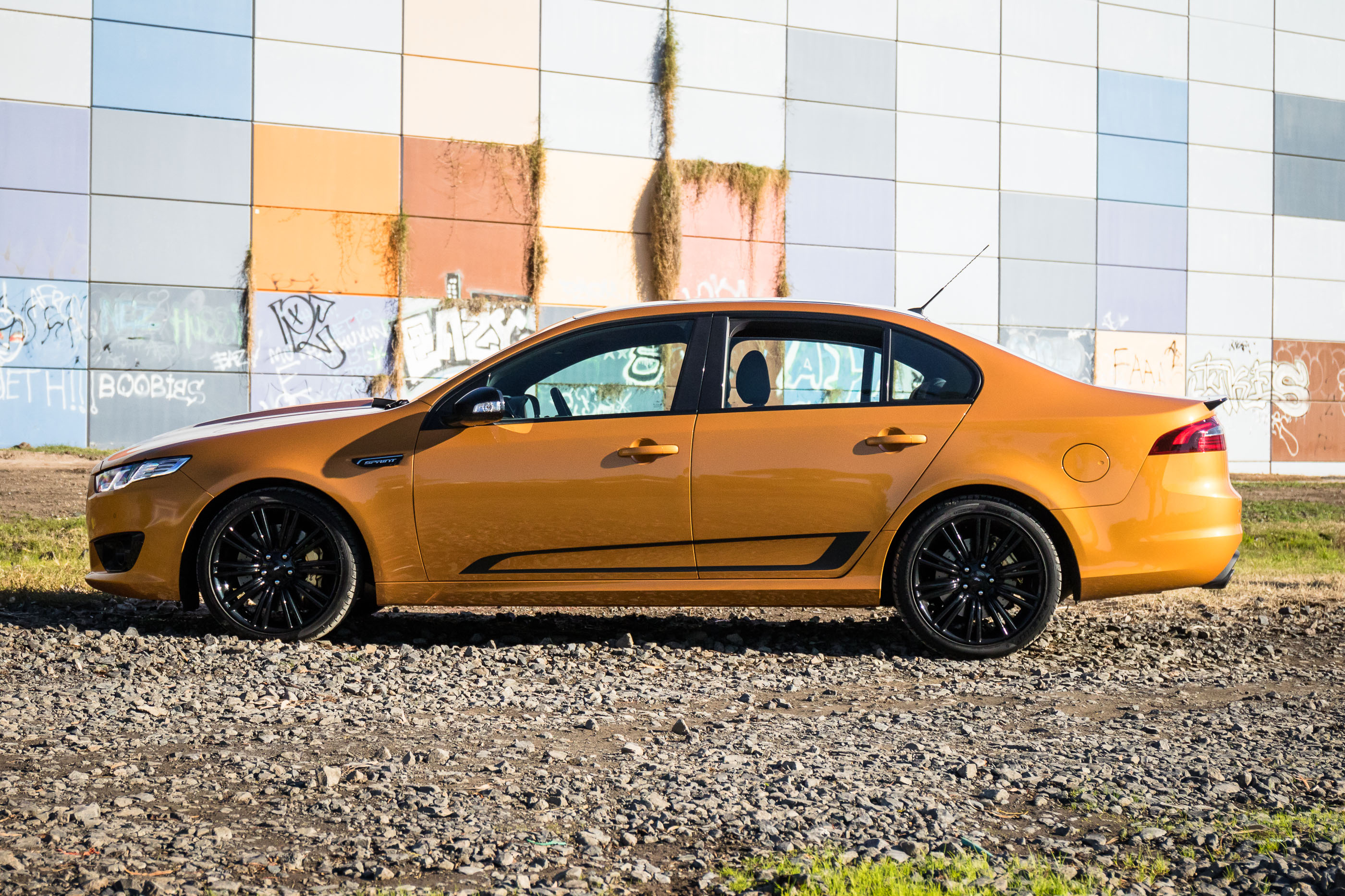 2016 ford falcon xr8 sprint review photos caradvice. Black Bedroom Furniture Sets. Home Design Ideas