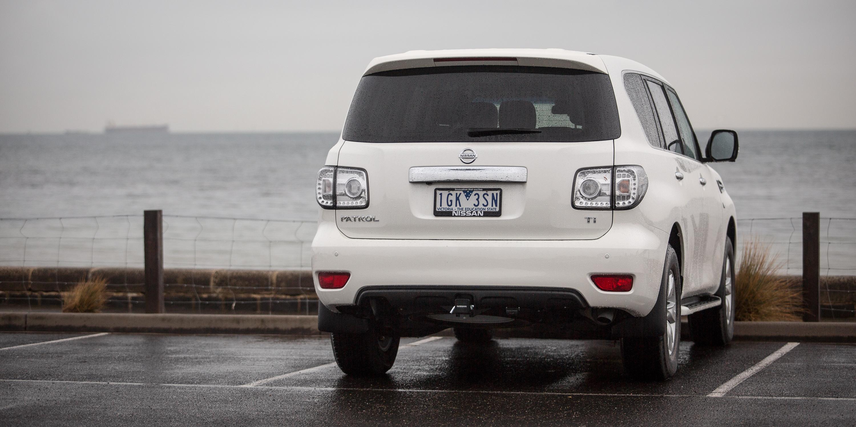 2016 Nissan Patrol Ti Review - photos   CarAdvice