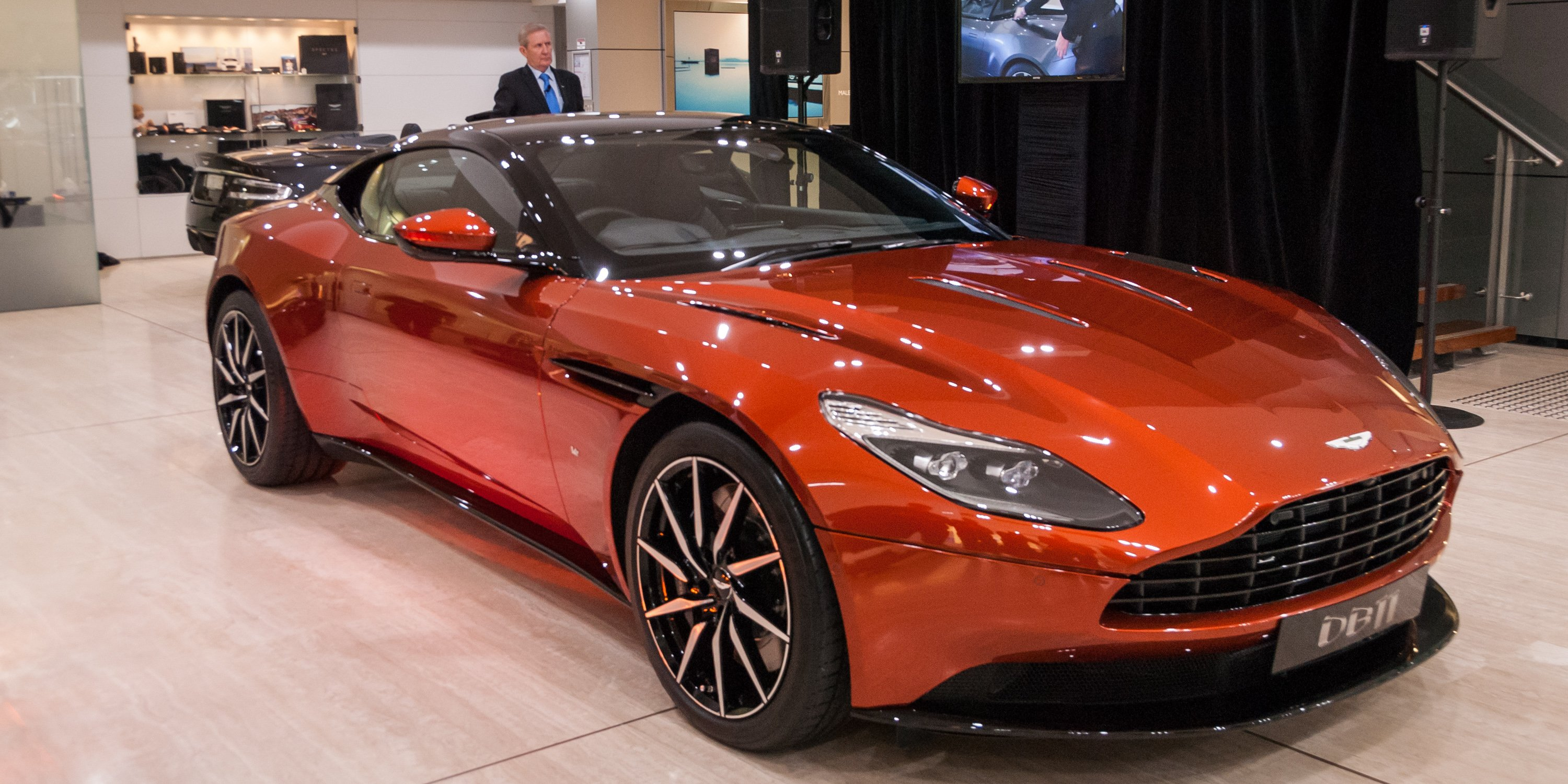 2017 Aston Martin DB11 Makes Its Australian Debut