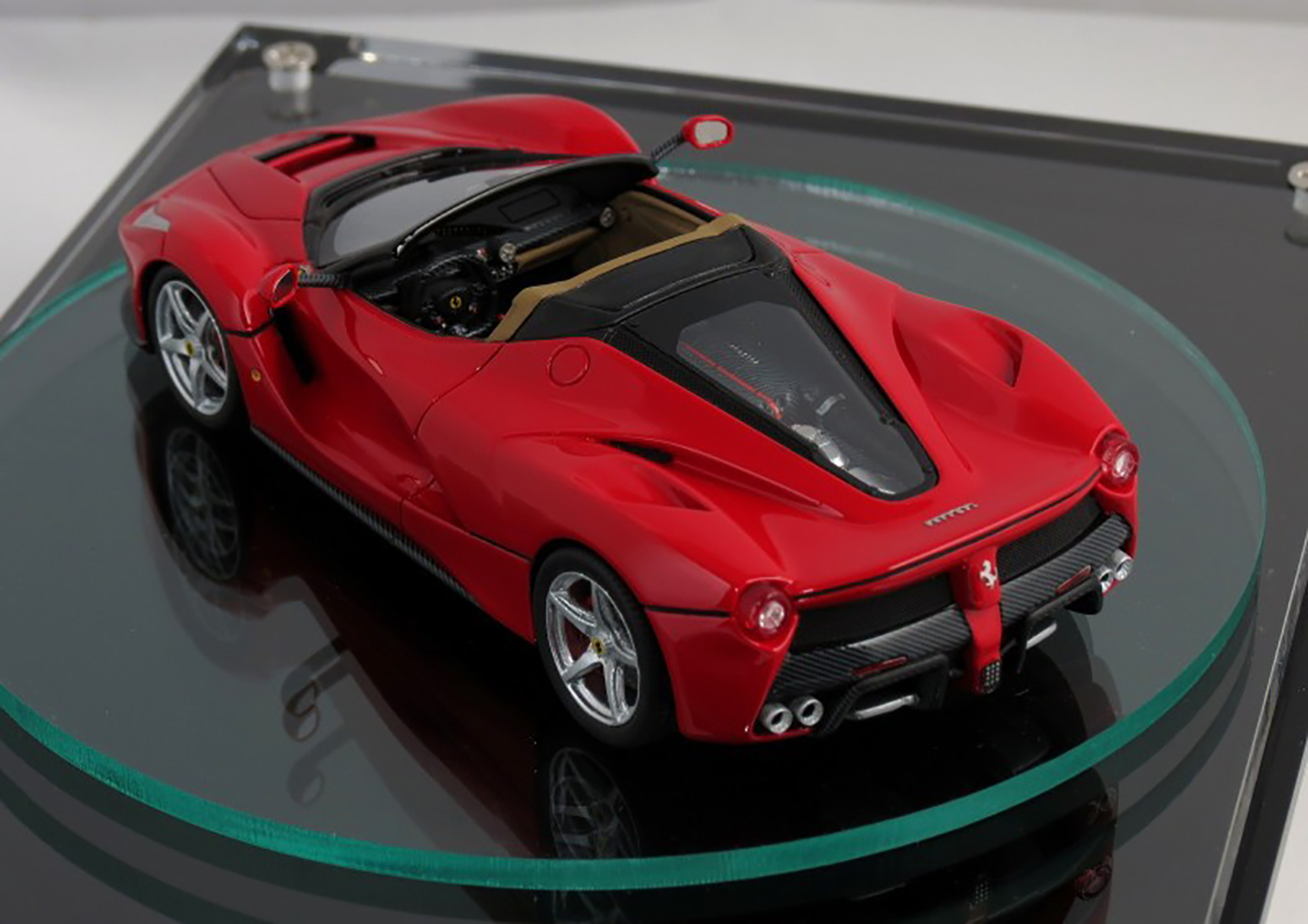 2016 Hyundai Santa Fe >> 2017 LaFerrari Spider previewed by scale model - photos | CarAdvice