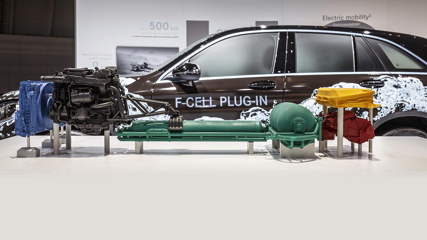 2017 Mercedes-Benz GLC F-Cell concept: hydrogen SUV due next year ...
