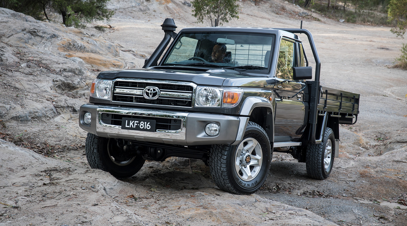 2017 toyota landcruiser 70 series australian updates confirmed for fourth quarter launch. Black Bedroom Furniture Sets. Home Design Ideas