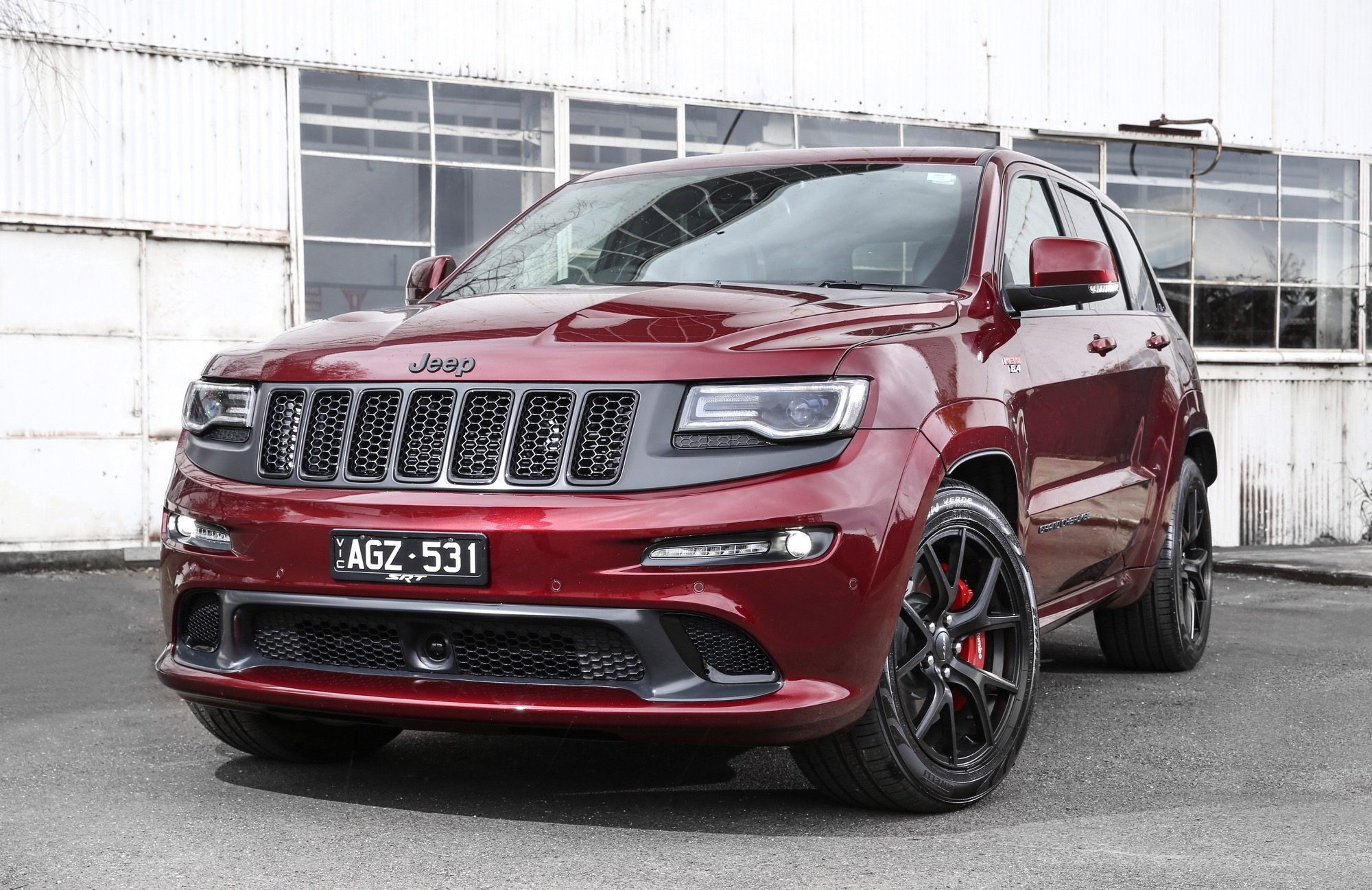 Jeep Grand Cherokee 2018 Review >> 2016 Jeep Grand Cherokee SRT Night Review - photos | CarAdvice