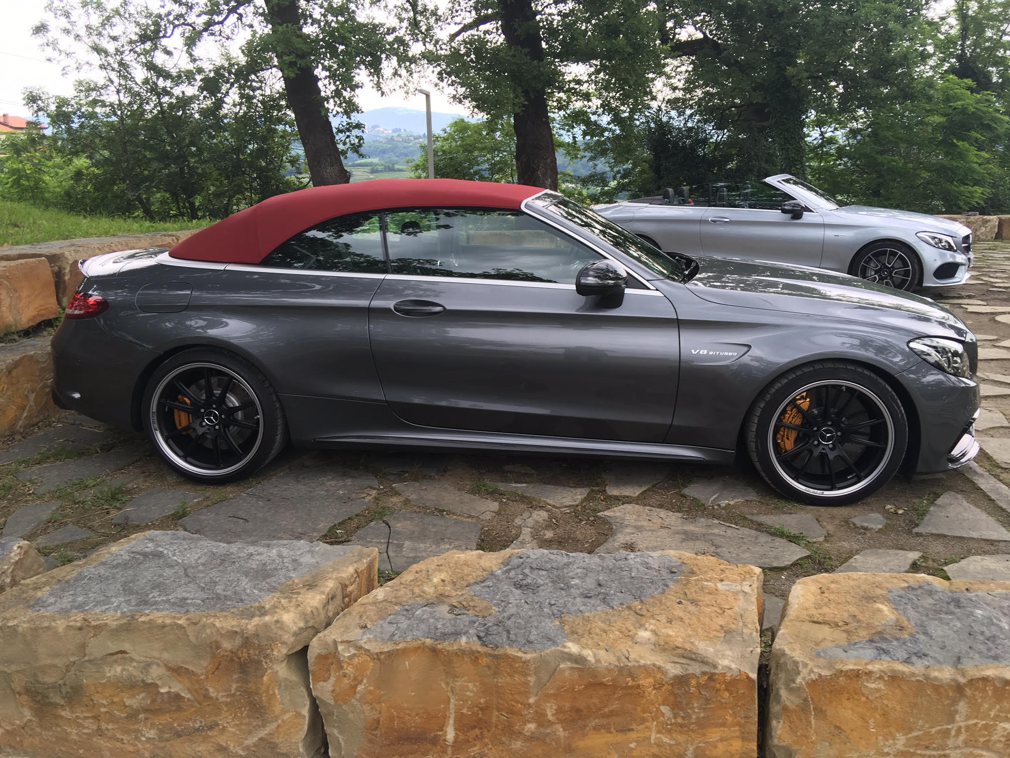 2017 mercedes amg c63 s c43 cabriolet review photos caradvice. Black Bedroom Furniture Sets. Home Design Ideas
