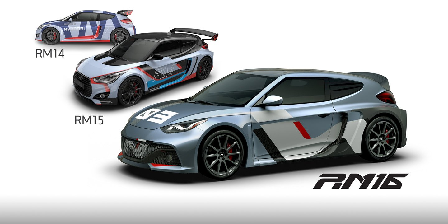 Hyundai Rm16 >> Hyundai RM16 N racing concept gives Veloster a new look - Photos
