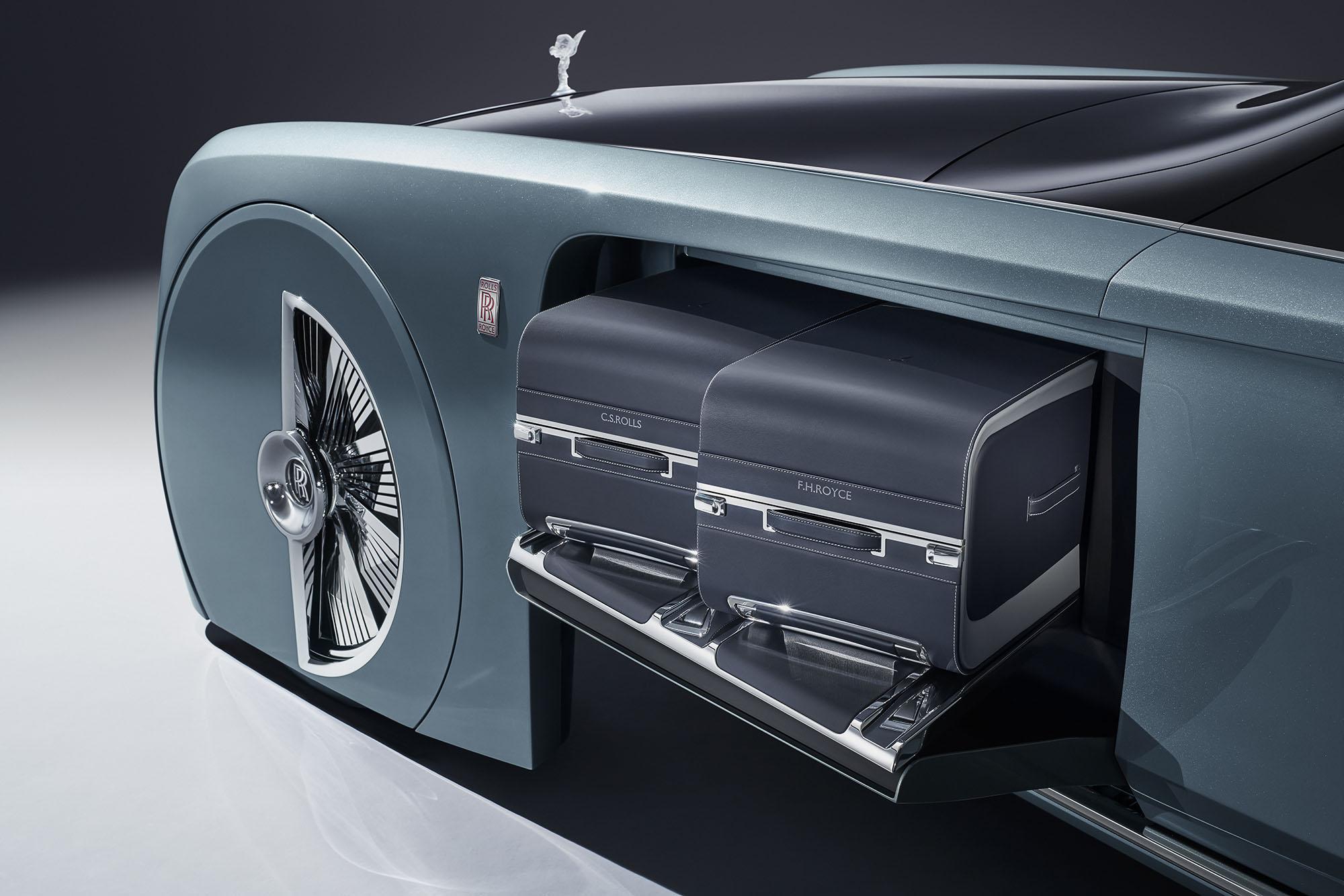Rolls Royce Vision Next 100 Concept Unveiled Photos