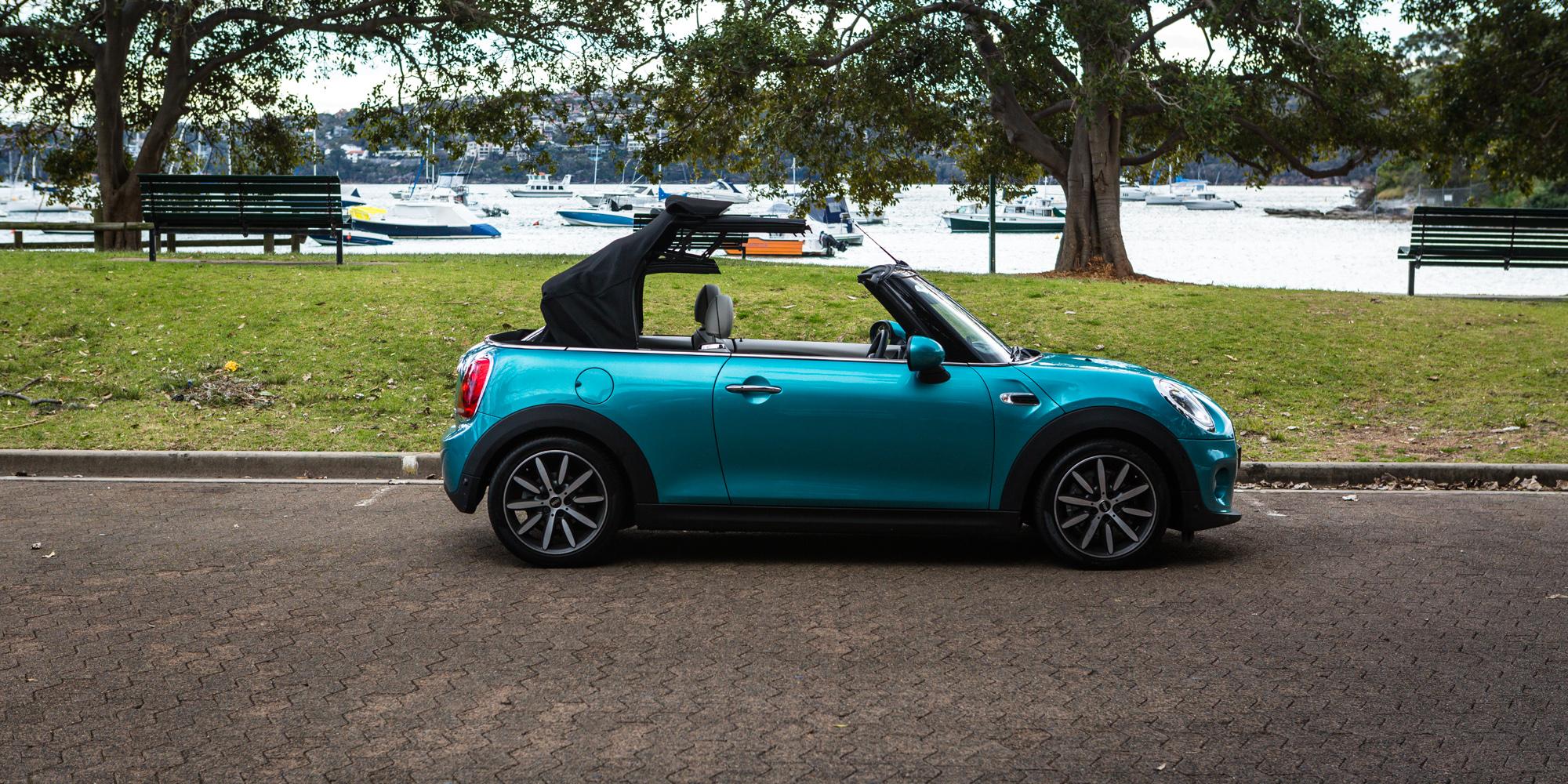 2016 mini cooper convertible review photos caradvice. Black Bedroom Furniture Sets. Home Design Ideas