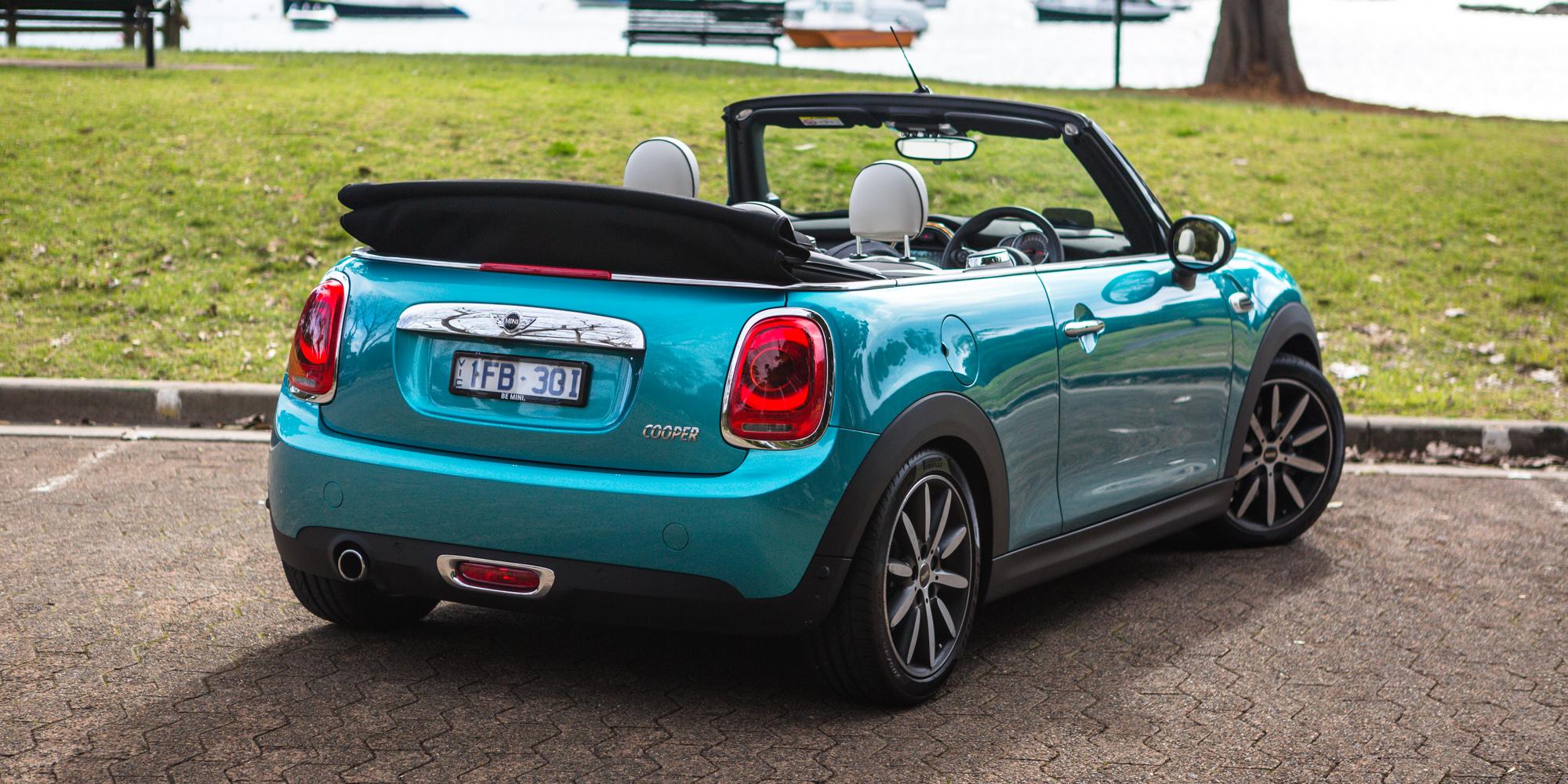 Mini Cooper Sports Car Convertible