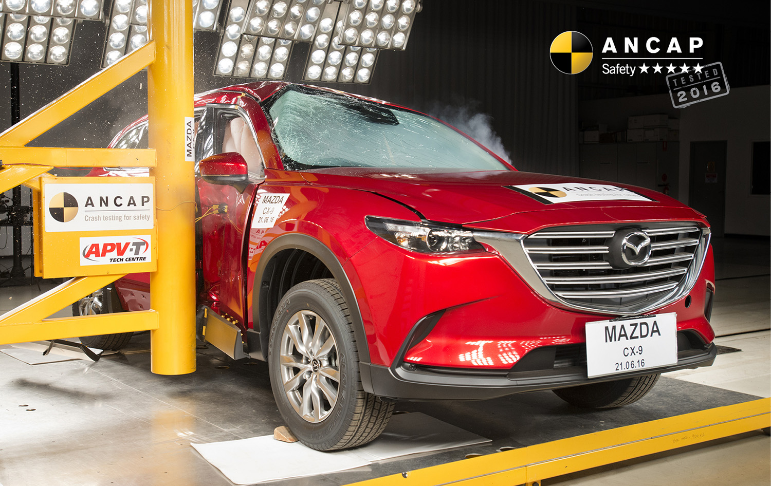 2016 mazda cx 9 scores five star ancap safety rating photos caradvice. Black Bedroom Furniture Sets. Home Design Ideas