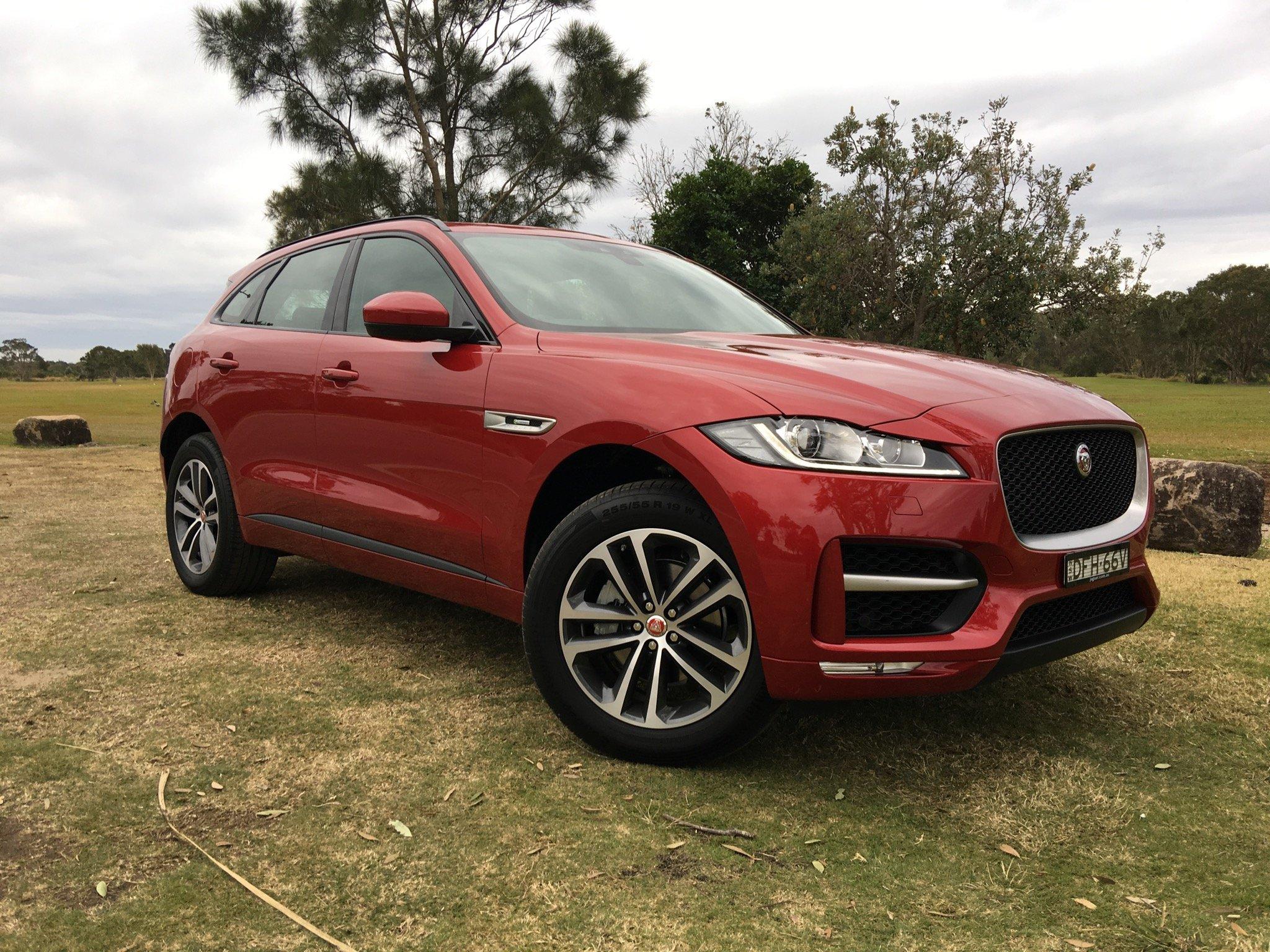 2017 Jaguar F-Pace Review   CarAdvice