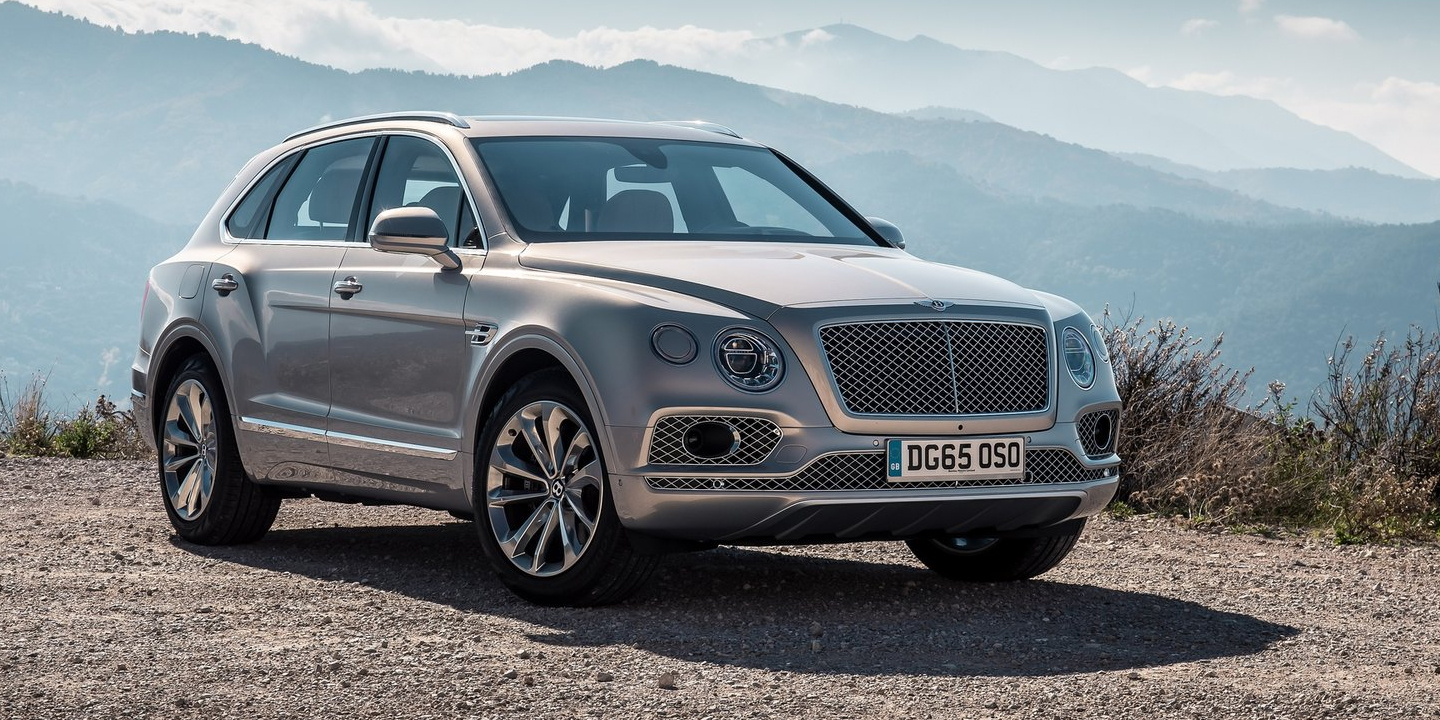Bentley Bentayga V Bentley Exp 9f Concept Styling Face