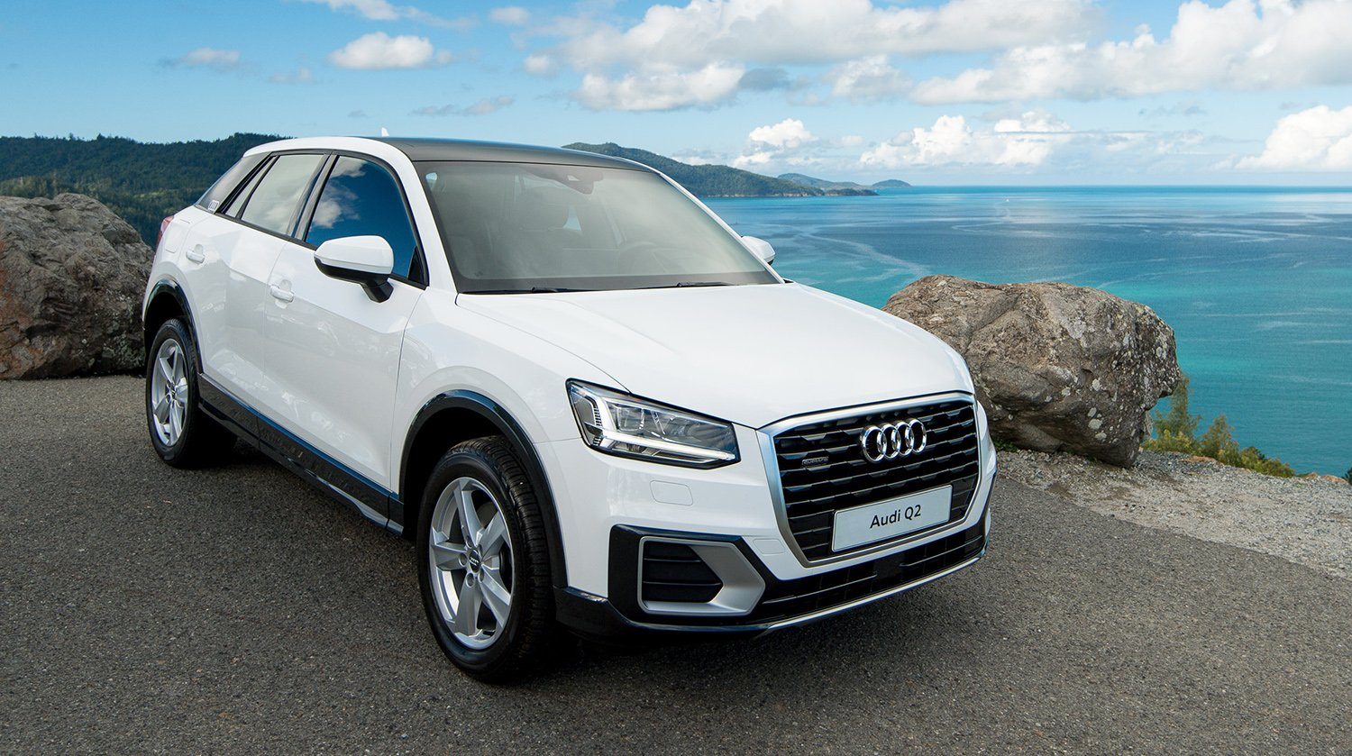 2017 audi q2 makes australian debut at hamilton island race week photos caradvice. Black Bedroom Furniture Sets. Home Design Ideas