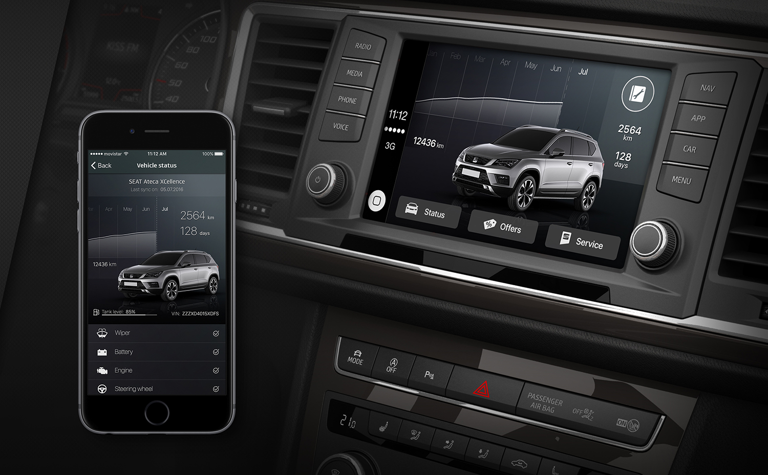 Seat releases first car manufacturer-developed Apple CarPlay app ...