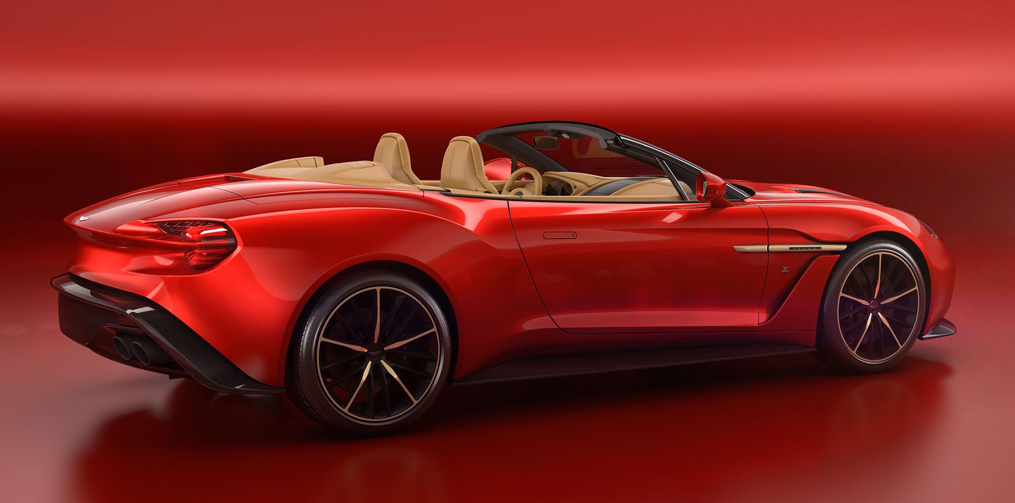 2017 Aston Martin Vanquish Zagato Volante unveiled ...