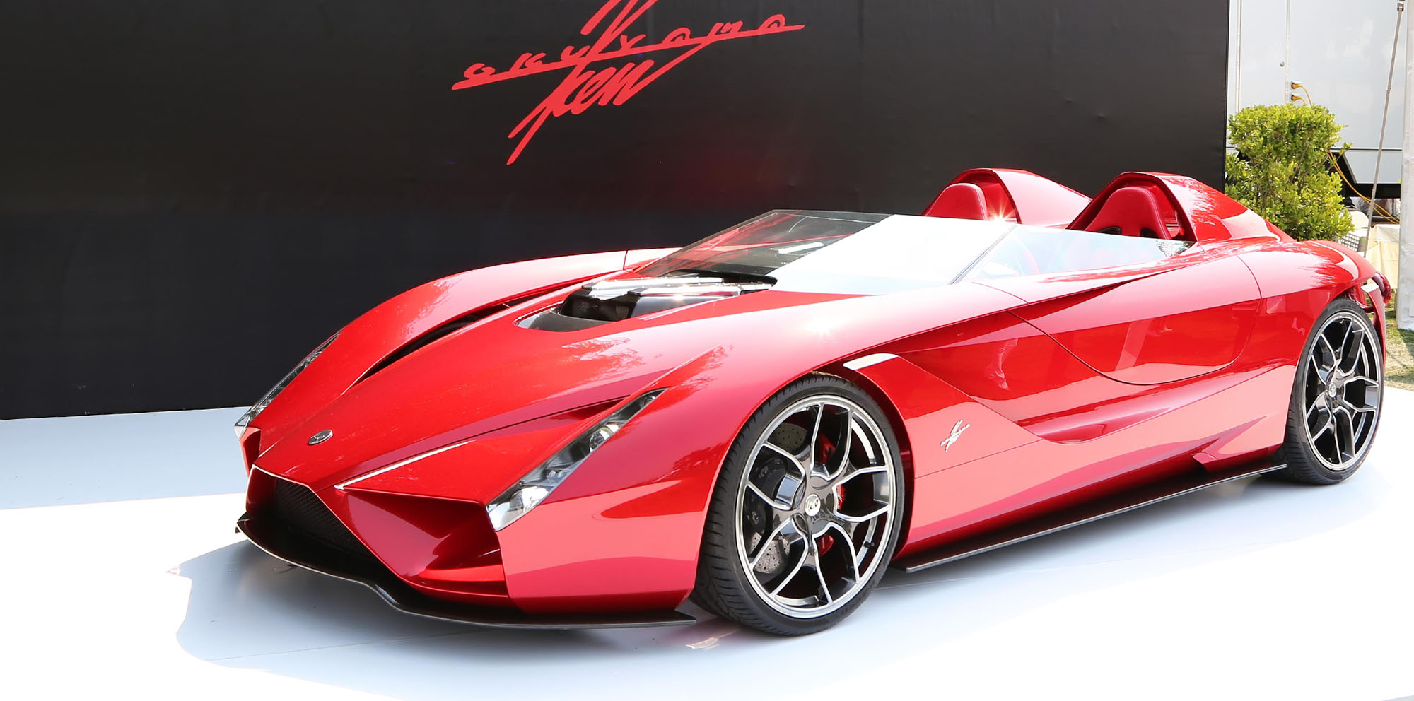 Kode57 Ferrari Based Speedster Unveiled In California