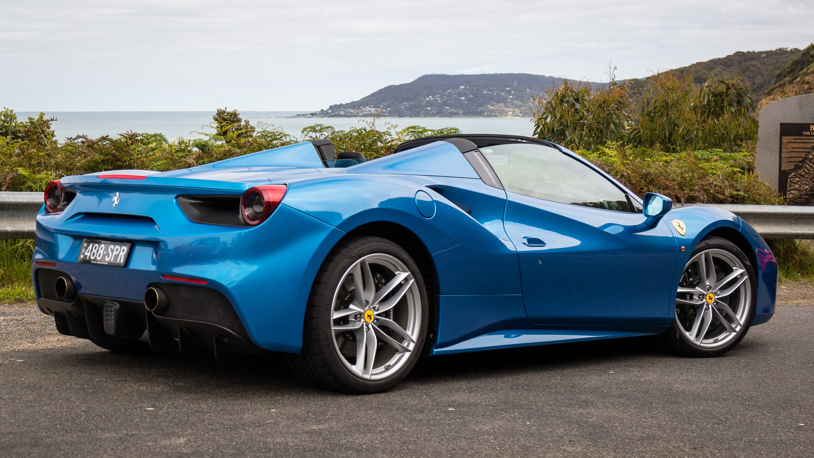 2016 ferrari 488 spider review photos caradvice. Black Bedroom Furniture Sets. Home Design Ideas