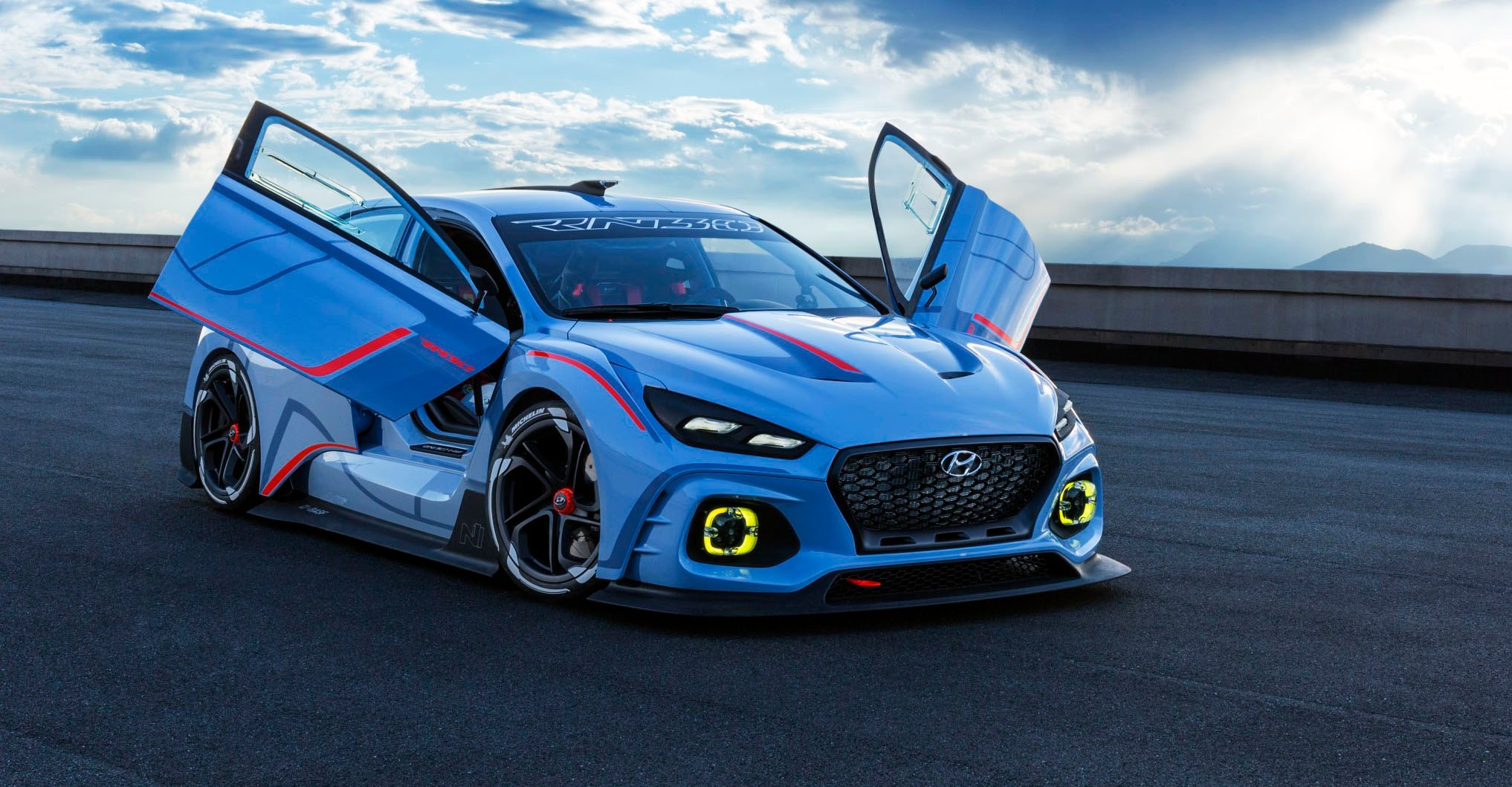 Hyundai Rn30 High Performance Concept Revealed I30 N