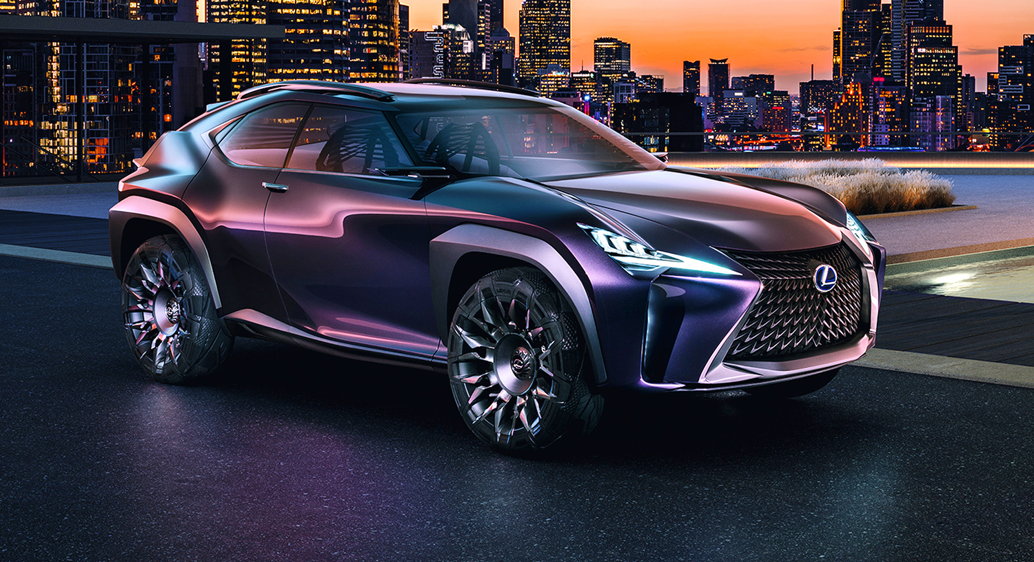 Lexus Ux Concept Reveals Compact Suv Plans In Paris