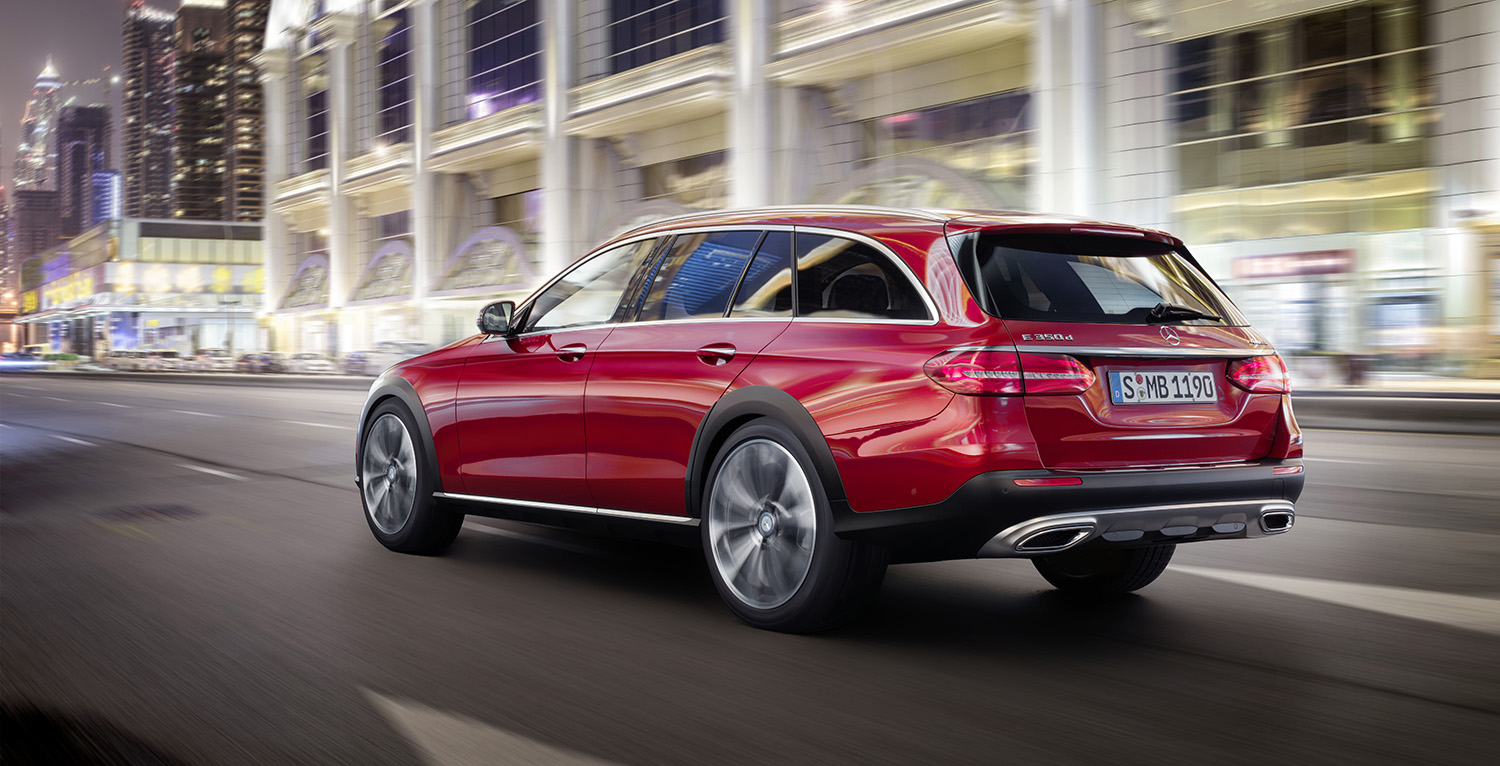 2017 mercedes benz e class all terrain revealed ahead of paris debut rugged wagon due second. Black Bedroom Furniture Sets. Home Design Ideas