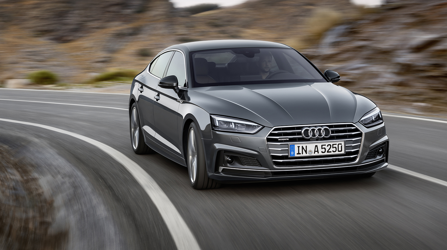 2017 audi a5 sportback s5 sportback revealed for paris. Black Bedroom Furniture Sets. Home Design Ideas