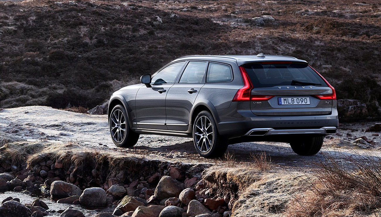 2017 volvo v90 cross country revealed high riding swede bound for australia photos 1 of 14. Black Bedroom Furniture Sets. Home Design Ideas