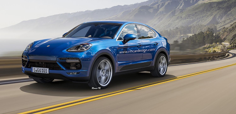 Porsche Cayenne Coupe rendering puts Panamera on stilts - photos | CarAdvice