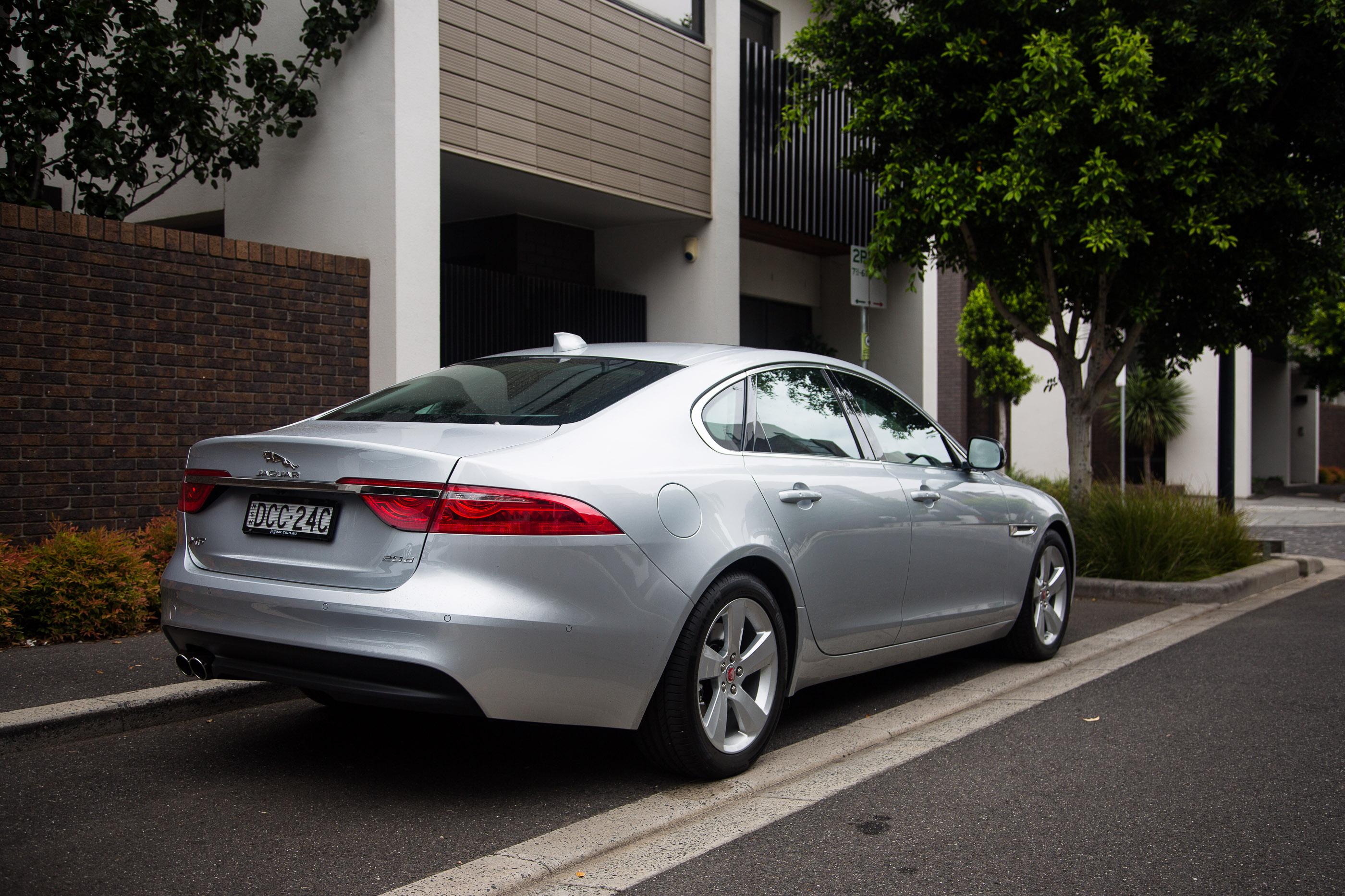 2016 Jaguar Xf 20d Prestige Review Photos Caradvice