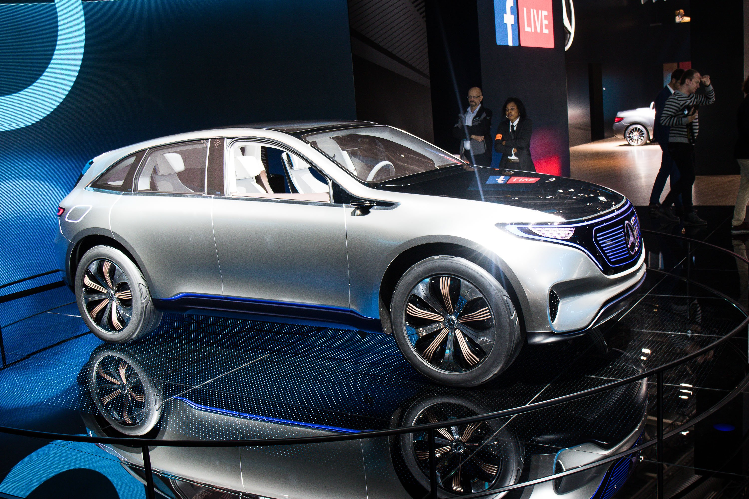 Marvelous Mercedes EQ Electric SUV Will Launch In Australia By 2020
