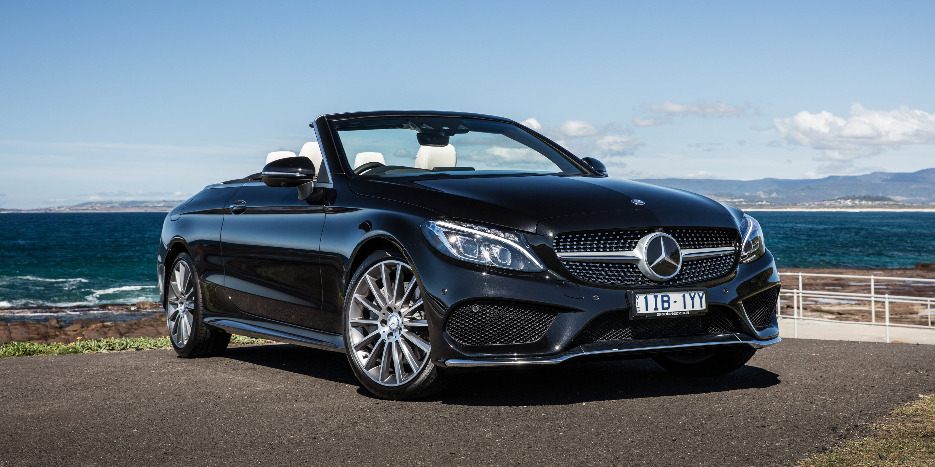 2017 mercedes benz c class cabriolet review photos caradvice. Black Bedroom Furniture Sets. Home Design Ideas