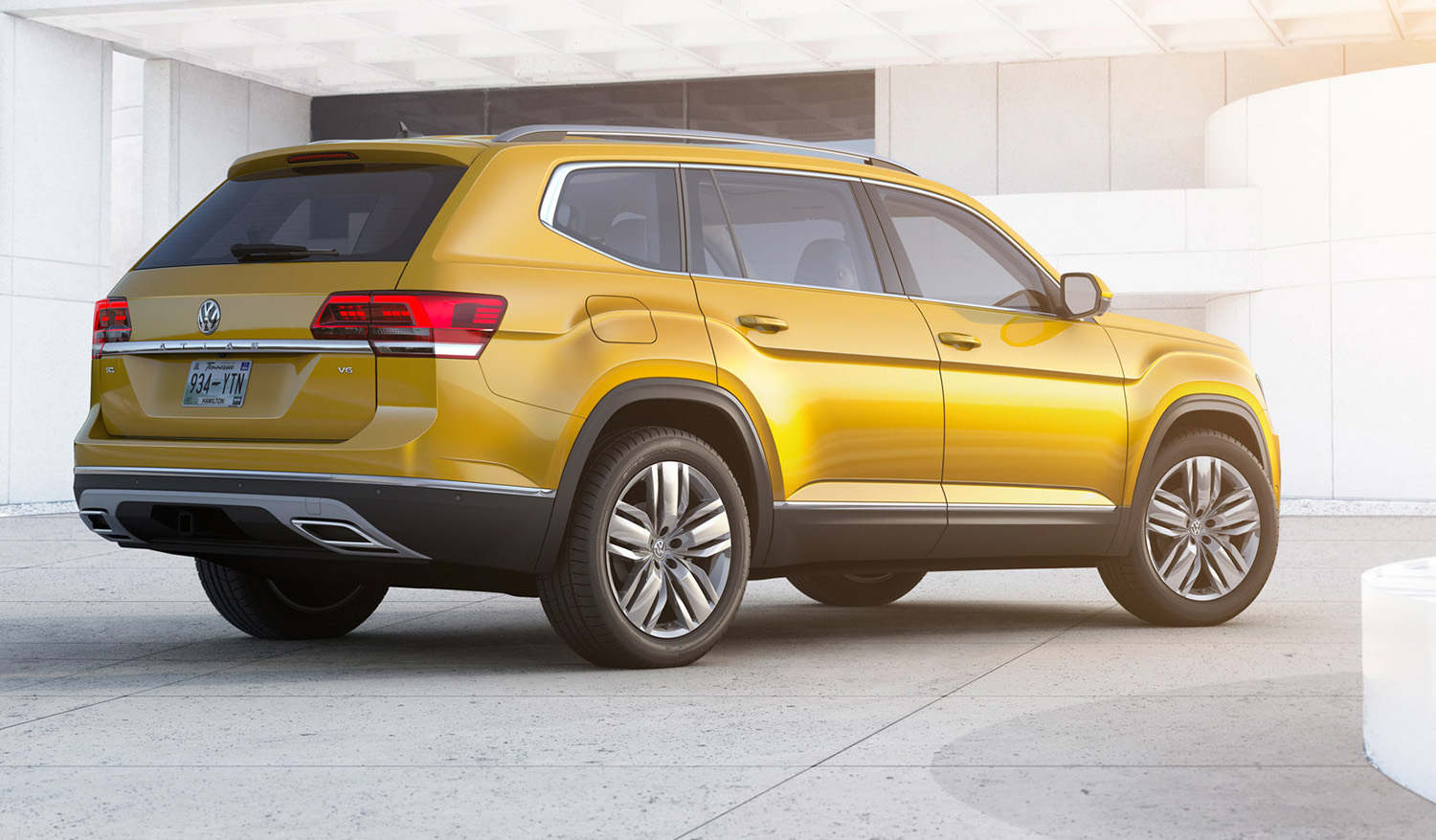 7 Seater Suv 2017 >> Volkswagen Atlas seven-seat SUV revealed - photos | CarAdvice
