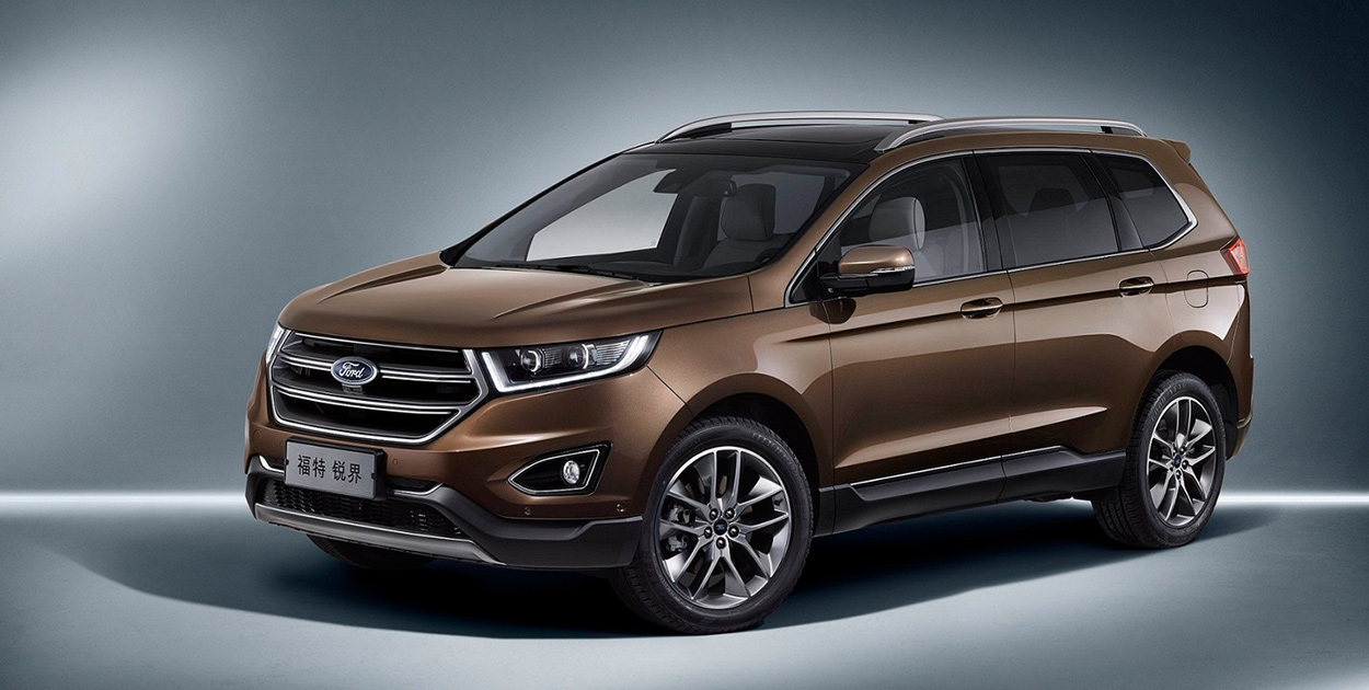 Ford Edge Limited >> 2018 Ford Edge Australian pricing and details revealed - Photos (1 of 11)