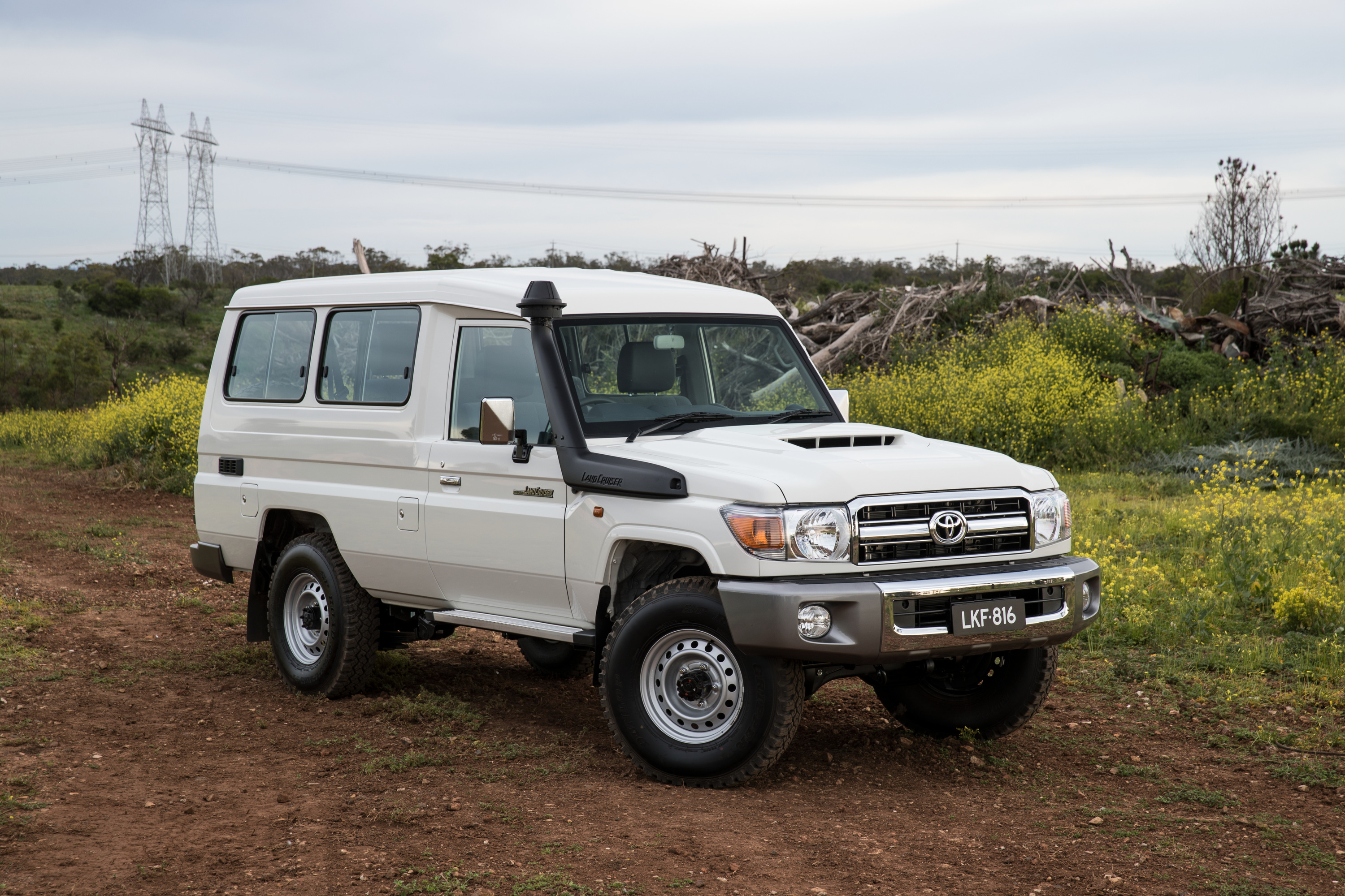 Toyota Land Cruiser 70 >> 2017 Toyota LandCruiser 70 Series Review | CarAdvice